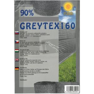 Greytex 90% Tieniacie siete sivé